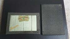 (Unopened) Vintage Rayon Damask – Made in Ireland Napkins x 4 – Green