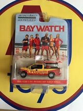 GREENLIGHT HOLLYWOOD 1:64 BAYWATCH 2016 FORD F-150 EMERALD BAY BEACH PATROL NIP