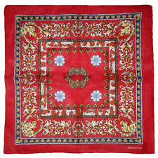 "Wholesale Lot of 6 Floral Angel Cherub Red 100% Cotton 22""x22"" Bandana"