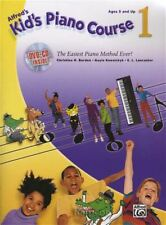Alfred's Kids Piano Course 1 Book/DVD/CD Learn How to Play Children's Method