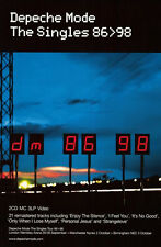"MUSIC POSTER~Depeche Mode The Singles 86>98 1998 Original 20x28"" Promo UK NOS~"