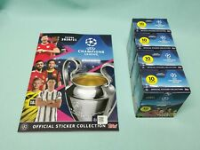 Topps Champions League Sticker 2020/2021 Sammelalbum + 4 x Display 20/21 Album