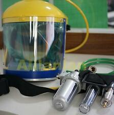 Pro Fresh AIR FED Visor BREATHING MASK Supplied KIT For Gas PAINT SPRAY Protect