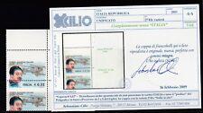 FRANCOBOLLI - 2003 REPUBBLICA CAPRONI VARIETA' MNH C/1695