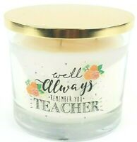 Scentsational Natural Soy Large 26oz Candle Teacher Appreciation - No. 06 Storm