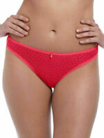 Freya Brazilian Brief Starlight Size S 10 12 Hibiscus Pink Knickers 5207 New