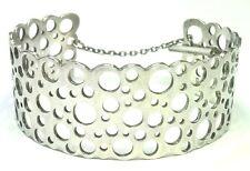 Liisa Vitali Finland Vintage 1974 Sterling Silver Bracelet for Nestor Westerback
