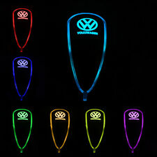 Car Auto Gear Shift Knob LED Light 7 Color Touch Activated Sensor For VOLKSWAGEN