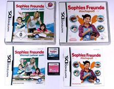 Spiele: SOPHIES FREUNDE: KOCHSPAß + EINMAL LEHRER SEIN / Nintendo DS + Lite +3DS