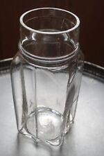 Ravissant pot à épices en verre - apothicaire - bocal pharmacie - objet métier