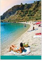 CARTOLINA SPIAGGIA DI TONO A MILAZZO MARE SEA BEACH SICILIA SICILY POSTCARD