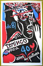 Domingo Garcia 40 Anos De Pintura Serigraph Poster ICP 1987 Puerto Rico