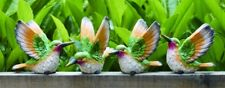 "1st Medium Resin Hummingbird Bird Figurine 4"" (1 bird only)"
