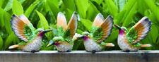 "3rd Medium Resin Hummingbird Bird Figurine 4"" (1 bird only)"