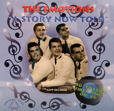 THE EMOTIONS Story Now Told - 30 Tracks on CBR #1012