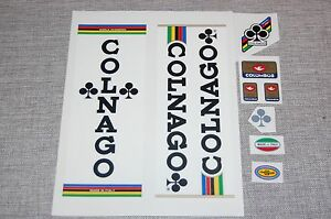 Colnago Cycling 80-90's cycling Colnago Mexico  team decals