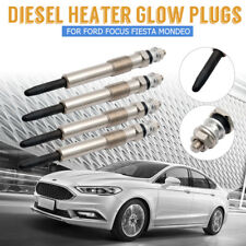 4x Diesel Heater Glow Plugs For Ford Focus Fiesta Mondeo 1.8 D TDCI Dual Core
