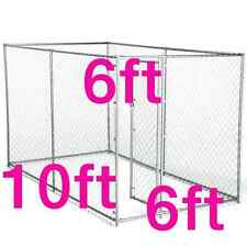 Large Heavy Duty Steel Dog Kennel Crate Gate Fence Dog Pet House Cage Playpen