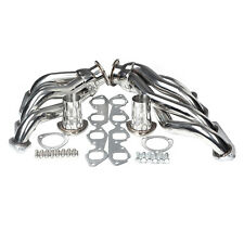 STAINLESS EXHAUST MANIFOLD SHORTY RACE HEADER FIT BIG BLOCK 396/402/427/454/502