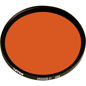 New Tiffen 82mm #21 Orange Filter MFR # 82OR21