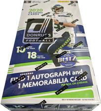 Panini 2020 Donruss NFL Football Factory Sealed Hobby Box