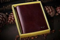 Genuine Brown Braun Buffel Leather Auto Documents, Case for Passport