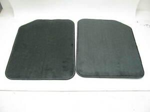 Coverking Custom Fit Front Floor Mats for Select Oldsmobile Cruiser Models Black Nylon Carpet