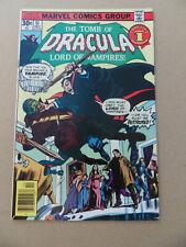 Tomb Of Dracula 51 . Blade App . Marvel 1976 . FN / VF
