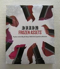Bare Escentuals Buxom FROZEN ASSETS Gel Lipstick 8-Piece Collection Pocket Sizes
