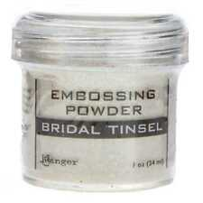 Ranger Embossing Powder 1oz Jar-Bridal Tinsel
