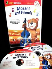 Baby Genius - Mozart and Friends NEW! DVD & CD ,COLORS SHAPES,LETTERS , LEARN
