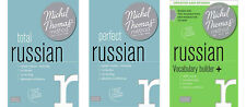Michel Thomas Total Russian, Perfect Russian & Vocabulary Builder + Complete set