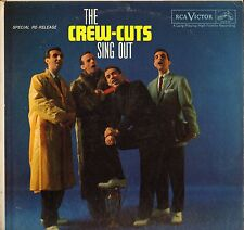 """THE CREW CUTS """"SING OUT"""" LP 1962 RCA PR 118"""