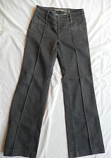 DAUGHTERS OF THE LIBERATION COTTON BLEND S SMALL WOMEN'S DARK GRAY JEANS