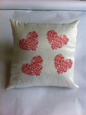 HEART SHAPE ANY NAME cushion gift birthday/christening/wedding/VALENTINES/