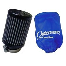 "1-1/4"" x 4"" Animal Fabric Air Filter & Outerwears Pre-Filter Go Kart Mini Bike"