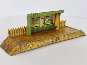 c1930's O Gauge - MECCANO / HORNBY SERIES - Wayside Station - Tinplate