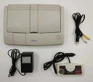 PC Engine Duo Video Game Complete Console Bundle TESTED