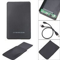 2.5 Inch USB 2.0 Hard Drive IDE HDD HD External Enclosure Case box For Laptop PC
