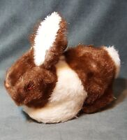 "Vintage Mary Meyer 10"" Plush Bunny Rabbit White Brown Finer Stuffed Toys"
