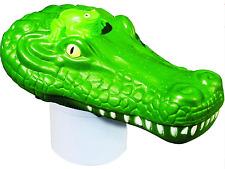 Pool Spa Chlorine Float Dispenser Poolmaster Alligator Chlori-Critter Tablet New