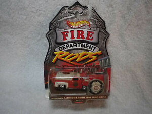 Hot Wheels Fire Department Rods Albuquerque NM 56 Ford Truck Real Riders
