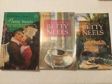 Lot of 3 Harlequin Romantic Betty Neels Novels
