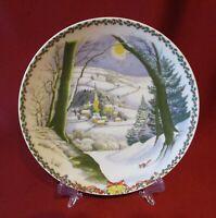 """Rosenthal """"Weihnachten auf dem Lande"""" Claire Roberts Motiv 1 Wandteller 19,5 cm."""