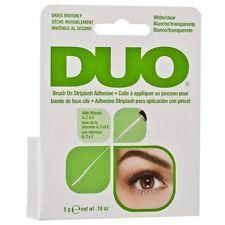DUO Brush-on Strip Lash Adhesive CLEAR (5g) - GENUINE DUO STRIP LASH GLUE!