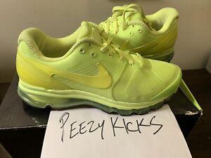 """2010 Nike Air Max 2010 DJ Clark Kent """"VOLT/VOLT"""" (386368-700) Men's US size 10.5"""