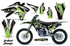 AMR Racing Kawasaki KX250 Graphic Number Plate Kit Bike Decal MX Part 13-15 TF G