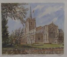 Chelmsford Cathedral, Portraits of Britain, Signed Mounted Limited Edition Print