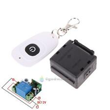 12V 1CH 433MHz Wireless Remote Control Switch Transmitter+Learning Code Receiver