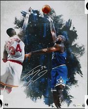 SHAQUILLE O'NEAL BABY HOOK UPPER DECK 16 X 20 UDA AUTOGRAPH PHOTO AUTO 27/32